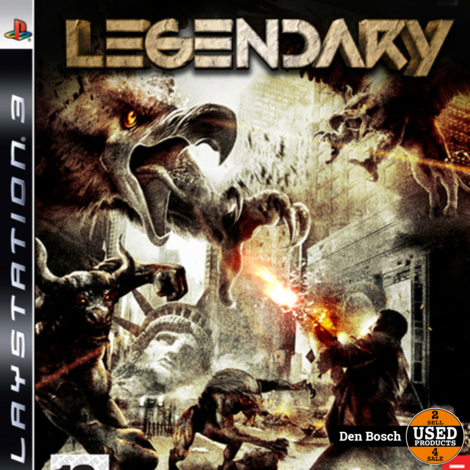 Legendary - PS3 Game