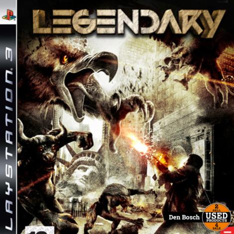 Legendary - PS3 Game
