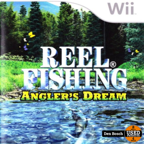 Reel Fishing Angler's Dream - Wii Game