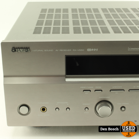 Yamaha RX-V550 Receiver + Afstandsbediening
