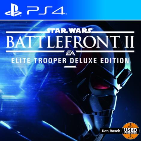 Battlefront II Elite Trooper Deluxe Edition - PS4 Game