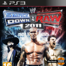 Smack Down vs Raw 2011 - PS3 Game