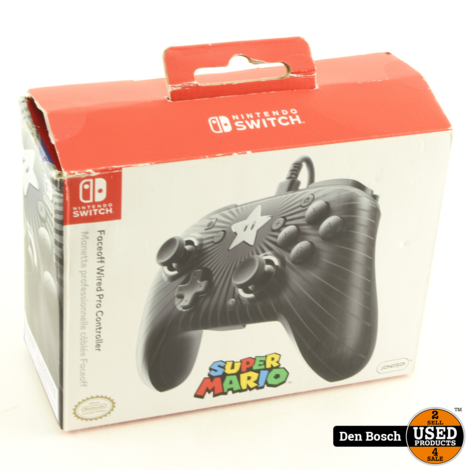 FaceOff Wired Pro Controller voor Nintendo Switch