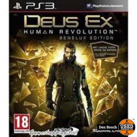 Deus Ex Human Revolution Benelux Edition - PS3 Game