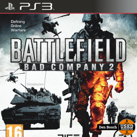 Battlefield Bad Company 2 - PS3 Game