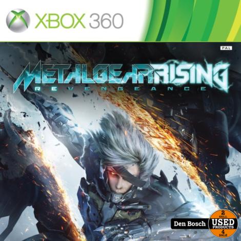 Metal Gear Rising Revengeance - XBox360 Game