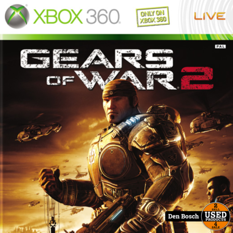 Gears of War 2 - XBox360 Game