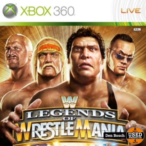 Legends of Wrestle Mania - Xbox 360 Game