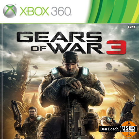 Gears of war 3 - Xbox 360 Game