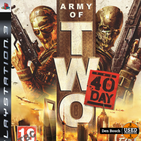 Army of Two 40th Day - PS3 Game