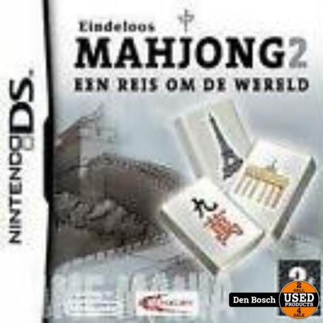 Mahjong 2 een Reis om de Wereld - DS Game