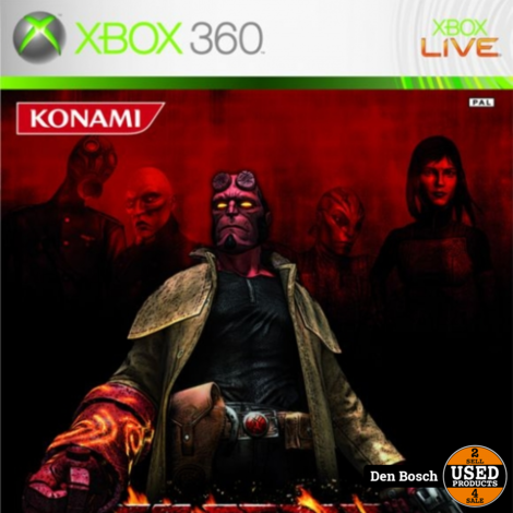 Hellboy the Science of Evil - Xbox 360 Game