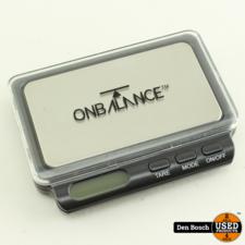 On Balance TW-100-BK Weegschaal