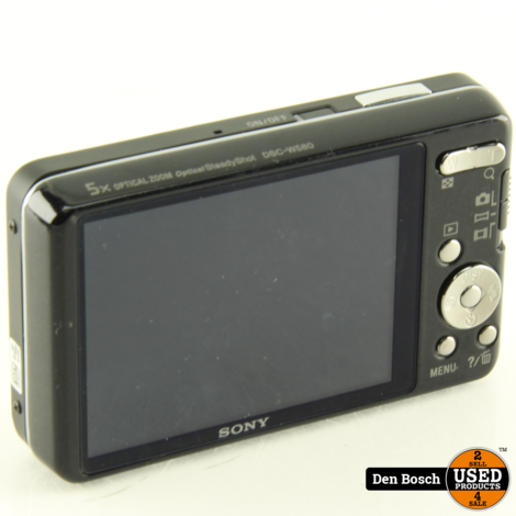 Sony DSC-W580 16.1MP met Oplader Accu en Hoesje