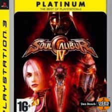 Soul calibur IV Platinum - PS3 Game