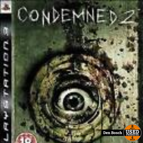 Condemned 2 - PS3 Game