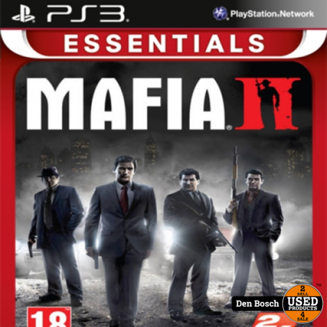 Mafia II Essentials - PS3 Game