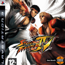 Street Fighter IV - PS3 Game