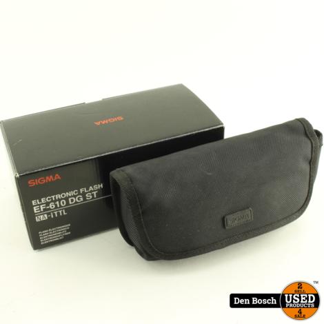 Sigma EF-610 DC ST Flitser (Nikon)