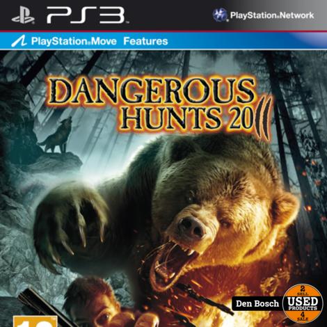 Dangerous Hunts 2011 - PS3 Game