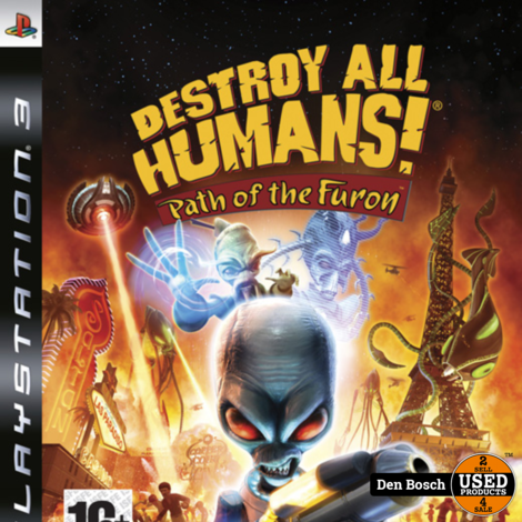 Destroy All Humans Path of the Furon - PS3 Game