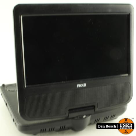 Nikkei NPD707 DVD Speler met afstandsbediening en  Adapter
