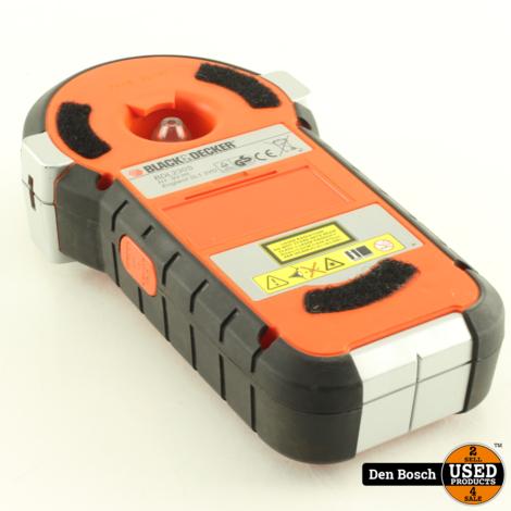 Black & Decker BDL230S lijnlaser detectorsysteem met Hoes
