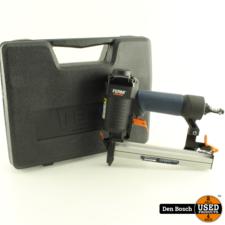 Ferm ATM1042 Pneumatische Tacker met Koffer