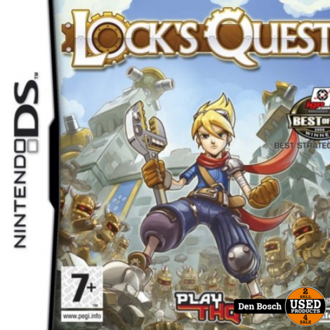 Lock's Quest - DS Game