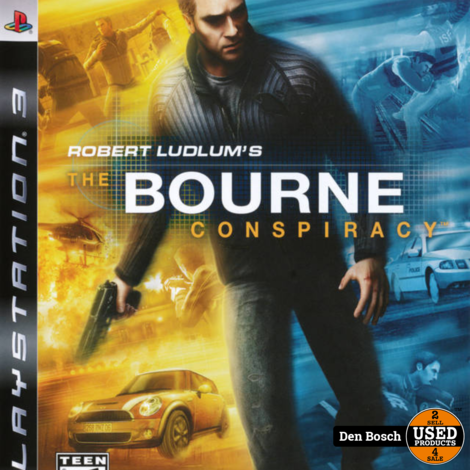 the Bourne Conspiracy - PS3 Game