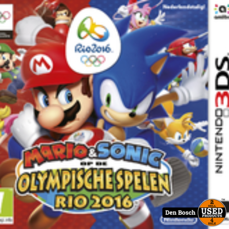 Mario & Sonic op de Olympische Spelen - Rio 2016 - 3DS Game