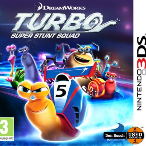 Turbo Super Stunt Squad - 3DS Game