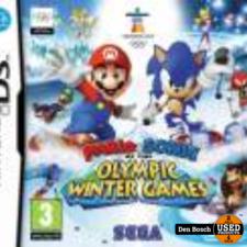Mario and Sonic op de Olympische Winterspelen - DS Game