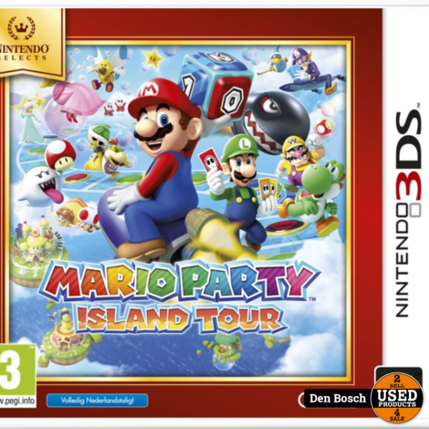 Mario Party Island Tour - DS Game