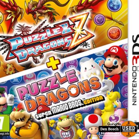 Puzzle & Dragons Z + Puzzle & Dragons Super Mario Bros. Edition - 3DS Game