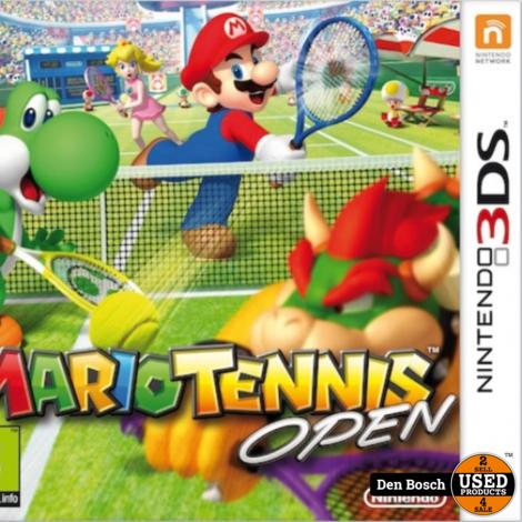 Mario Tennis Open - 3DS Game