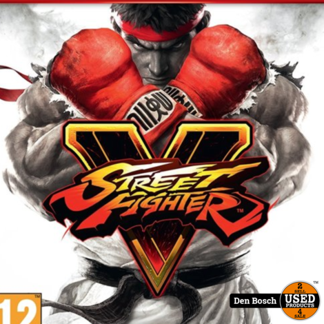 Street Fighter V (PlayStation Hits) - PS4 Game