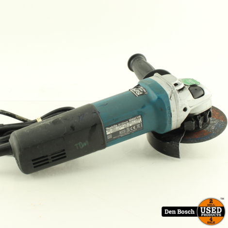 Makita 9565CVR Haakse Slijper 125mm met 3 Maanden garantie