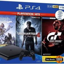 Playstation 4 Slim 1TB Bundle Pack met 2 Jaar Fabrieksgarantie