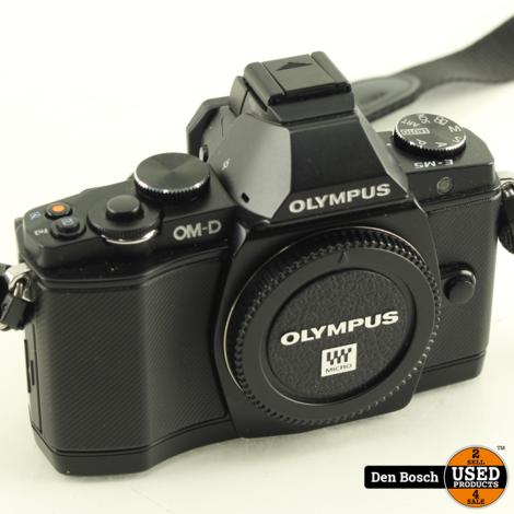 Olympus OM-D E-M5 Systeemcamera Body + Flitser