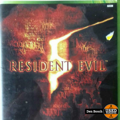 Resident Evil 5 - Xbox360 Game