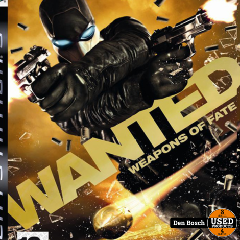 Wanted Weapons of Fate - PS3 Game