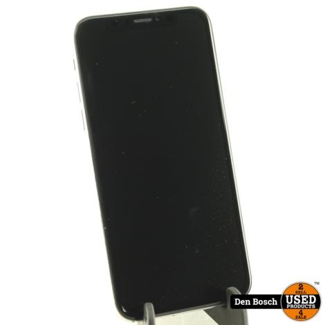 Apple iPhone X 64GB Silver met 3 Maanden Garantie