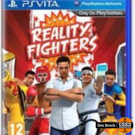 Reality Fighters - PS Vita Game