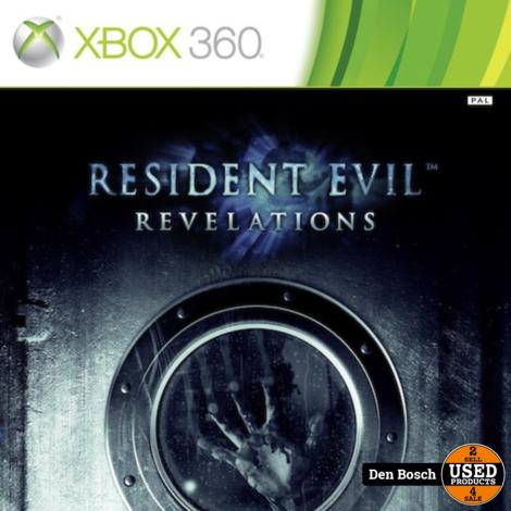 Resident Evil Revalations - XBox360 Game