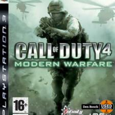 Call of Duty 4: Modern Warfare - PS3 Game