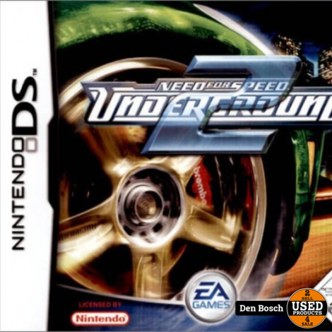 Need for Speed Underground 2 - DS Game