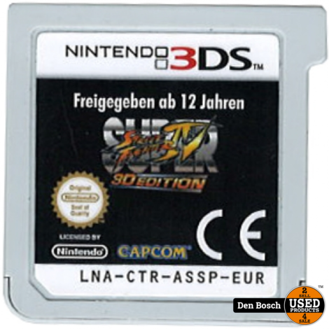 Super Street Fighter IV - 3DS Game