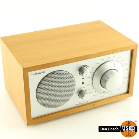 Tivoli Audio Model One Henry Kloss Tafelradio met 3 Maanden Garantie