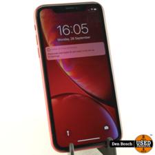 Apple iPhone XR 128GB Red met 3 Maanden Garantie